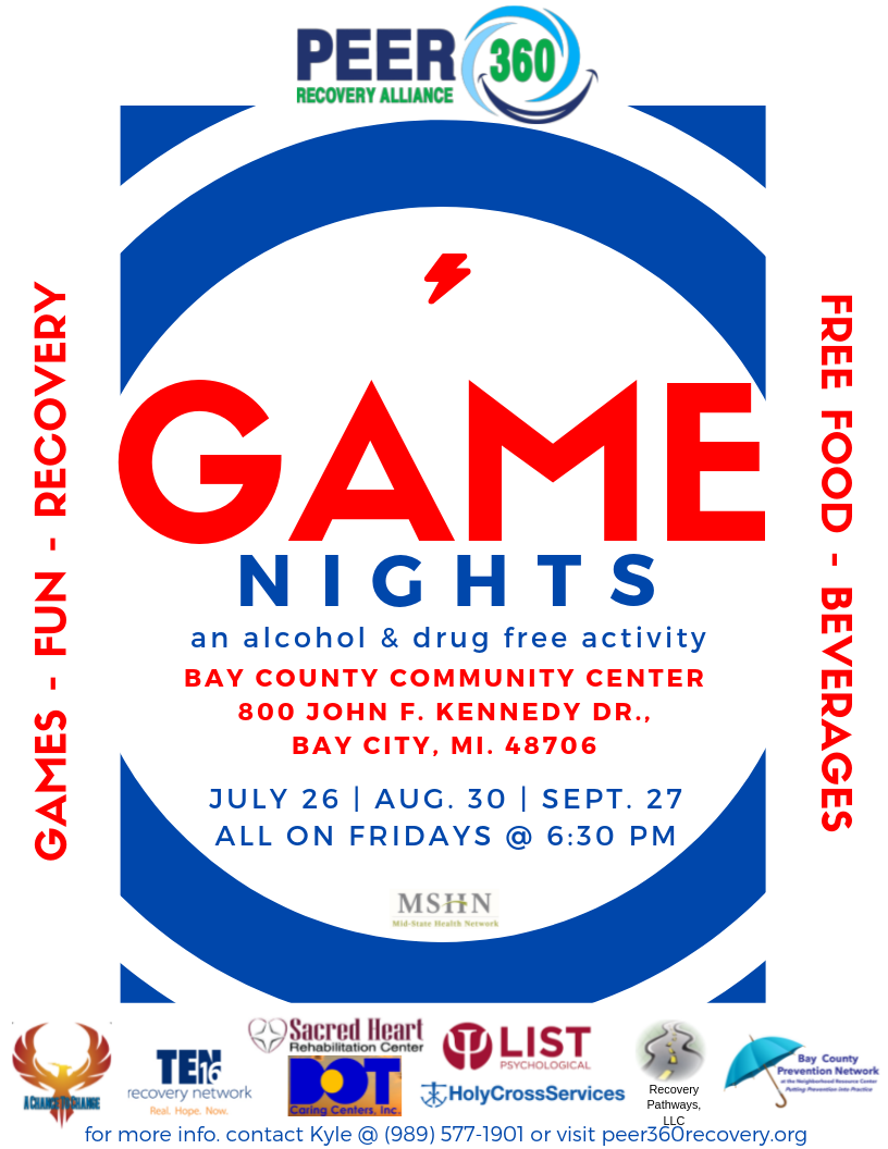 Game Nights @ Community Center